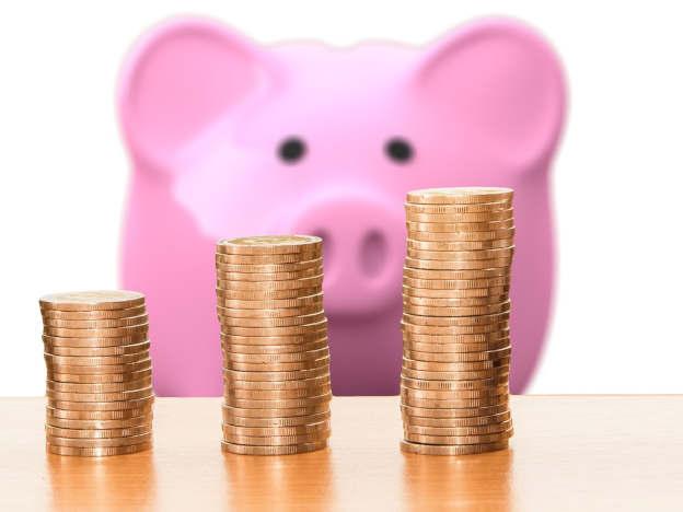 Geld aus dem Sparschwein